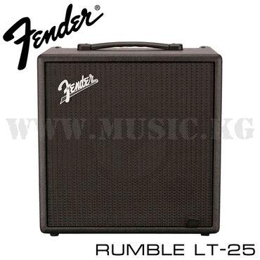 Комбоусилитель для бас-гитары fender rumble lt-25rumble lt 25 вобрал в