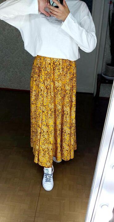 Юбки полусолнце. Очень красивые, удобное модные, ткань штапель