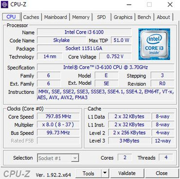 Продаю Intel Core i3 6100 + Материнку на h110m-kНа проверку неделю