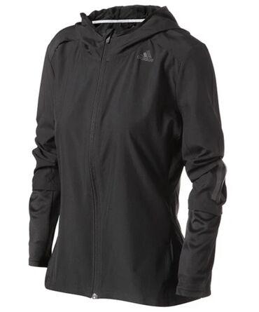 sako crne boje u Srbija: Originalna Adidas jakna vetrovka za fitnes trčanje, M veličine, crne b