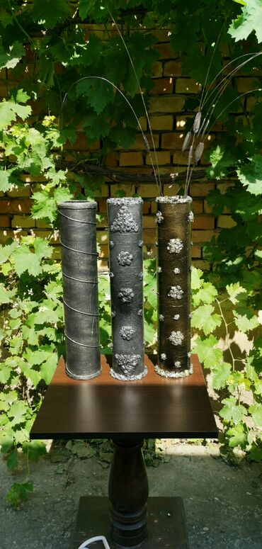 Kućni dekor - Ruski Krstur: Vaza za suvo cvece Ukrasna vaza za suvo cvece visine 52cm