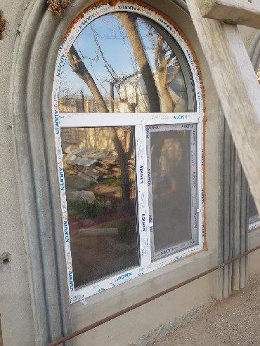 plastik kapi pencere - Azərbaycan: Pencere satılır 4 eded bir ededi 150 azn