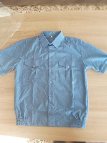 Другое в Кыргызстан: Милицейская рубашка отличная новая с коротким,длинным рукавами белые