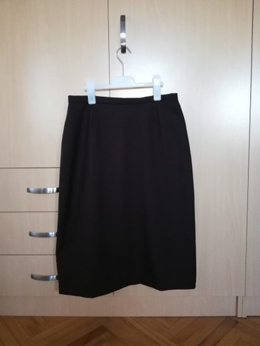 Braon vunena štofana suknja - Nis
