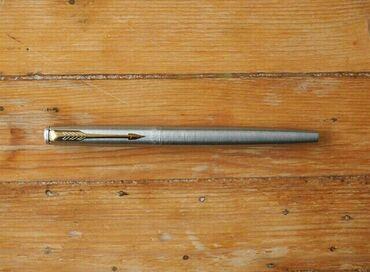 Prava koza jaknica konfekcijskom broju - Srbija: Parker naliv pero penkalo pozlaceno u koznoj futroli sa