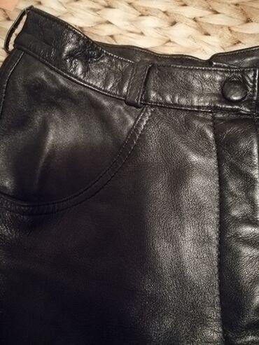 Bmw 7 серия 732i 5mt - Srbija: Blumarine kožne pantalone original iz Milana.Vel. italijanski 40 / XS/