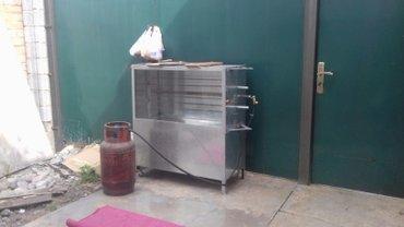 Гриль аппарат нашёл своих покупателей в Таласе. в Бишкек