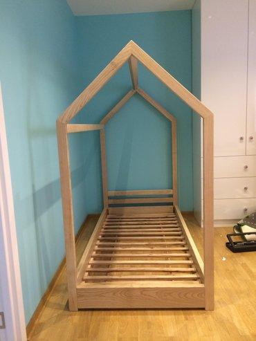Krevet u obliku kućice  je višenamenski i praktičan krevet za naše - Beograd