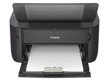 Canon 3 v 1 printer kseroks skaner - Кыргызстан: Принтер, черно белая распечатка,для дома и офиса Canon 6030,новый с