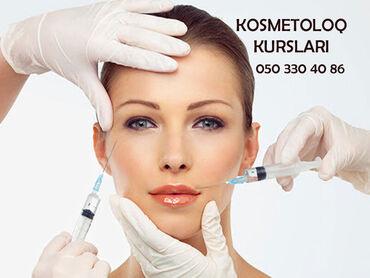 kosmetologiya - Azərbaycan: 0-dan İynəli və iynəsiz Kosmetologiya kurslariIynəli Kosmetologiya