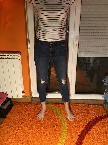 Pink jeans farmerke - Srbija: New Yorker farmerke, velicina 28