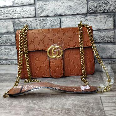 сумка жен в Кыргызстан: Женские сумки высота 16см ширина 25см объем 6см один задний карман и