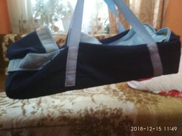 Продаю люльку детскую. Б/у в хорошем состоянии 400 сом  в Бишкек
