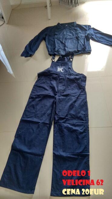 Radne pantalone - Srbija: Radna odela_________Radno odelo komplet 1. Bluza + Pantalone -