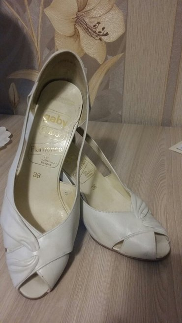 Продаю туфли женские кожаные, размер в Бишкек