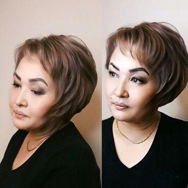 Мода, красота и здоровье в Душанбе: Стрижка Боб каре, осветление волос тонировка волос