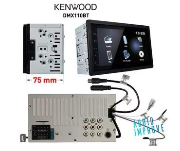 kenwood kdv mp7339 в Кыргызстан: Kenwood DMX 110BT. Без диска. Гарантия 1 год