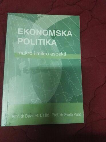 Knjige, časopisi, CD i DVD | Mladenovac: Ekonomska politika makro i mikro aspekti