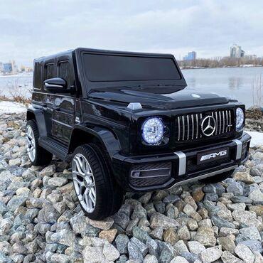 Yeni gələn, Mercedes Benz Galendwagen G63 elektromobilini sizə təqdim