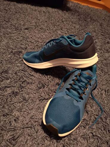 Muske nike patike - Srbija: Original muske patike za trcanje Nike Running broj 43, plave, samo