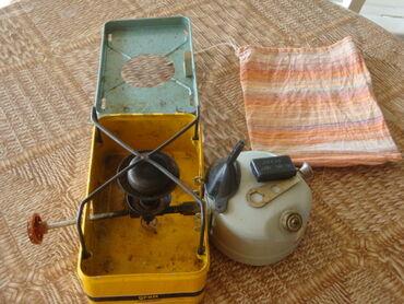 Примус (+газовая горелка) туристический «Прим-компакт», работает на