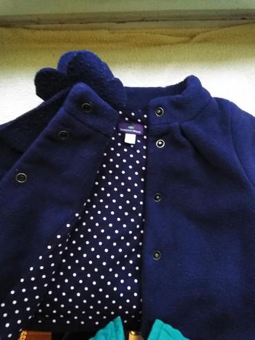 Bmw 6 серия 630cs mt - Crvenka: Postavljena jaknica za devojcice od 6 meseci