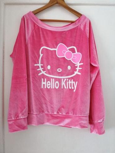 Komplet, ženska plišana pidžama Hello Kitty  - Obrenovac