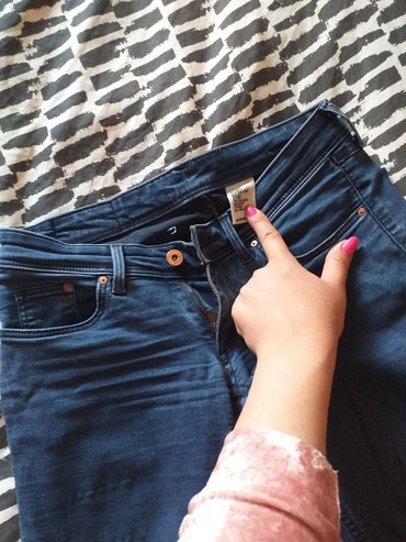 Ženska odeća | Novi Pazar: Push Up Farmerice jako rastegljive fine za nosenje mekani teksas S/m/L