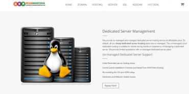 Dedicated server hosting is a type of internet hosting configuration in Kathmandu