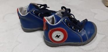 Coca cola - Zagubica: Anatomske Cipele za male decake broj 19,prava koza mogu jos dugo da