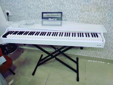 Пианино, фортепиано - Азербайджан: Pianino Elektron Yeni keyfiyyətli orginal ModelSimfoniya Modeli88