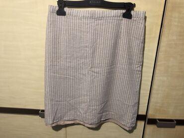Lanena suknja velicina 42