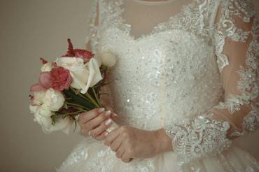 Свадебное платье, одевали один в Кок-Ой