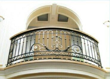 Кованные перила на балкон. звоните или пишите whats app в Бишкек