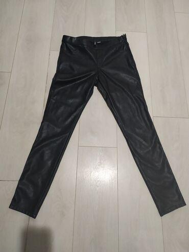 Bez pantalone broj - Srbija: Nove H&M pantalone, imitacija koze br 40.Bez etikete, nikad