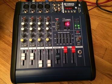 yamaha kalonkalar - Azərbaycan: Yamaha mixer sesguclendirici pmx402D model +48v phantom usb aux