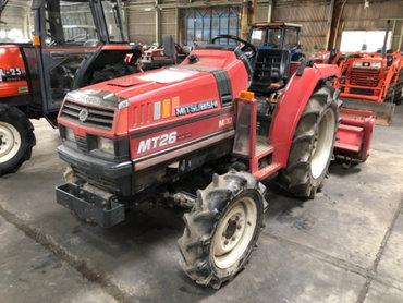 Продается надежный японский мини трактор MITSUBISHI MT26D. Оснащен 4х