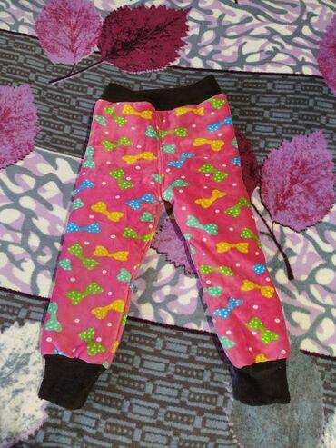 Детский мир - Кировское: Очень теплые штанишки на девочку 4-5 лет