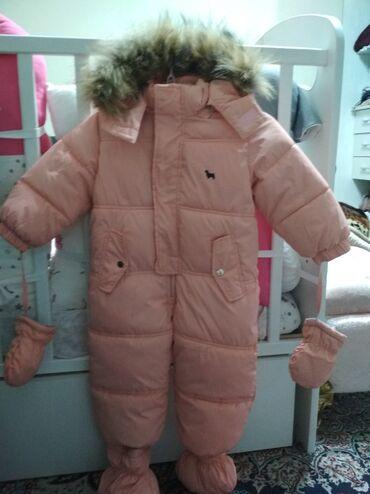 детские платья со шлейфом в Кыргызстан: Детский зимний комбинезон