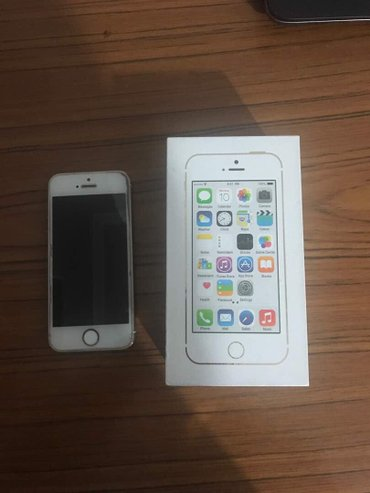 iphone 5s 16g Gold в Бишкек