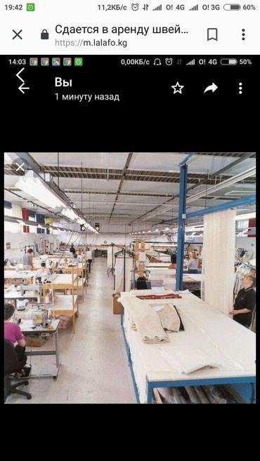 Аренда заводов и фабрик в Кыргызстан: Швейный цех арендага берилет,иштоо учун керектуу баардык жабдуулары