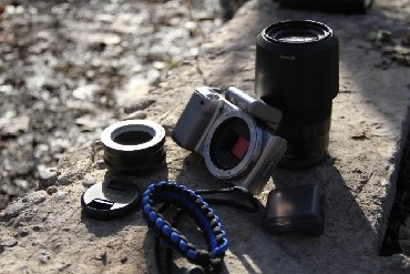 d600 в Кыргызстан: Продаю беззеркалку Sony Nex 5 с крутым объективом Sony 55-210mmЕсли не