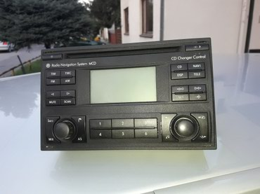 VW MCD Blaupunkt Radio cd navigation/golf 4 /passat b5.5/polo.  - Novi Sad