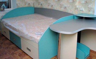 Детская мебель на заказ в Бишкеке. кровать, шкаф, стол и т. в Бишкек