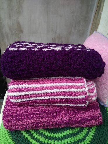 наливной пол цена работ бишкек в Кыргызстан: Продаю детские пледы ручной вязки для прогулок шерстяной плед размер