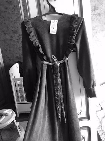 длинное платье в пол в Кыргызстан: Продаю велюровое платье, как раз на сейчас не одевала ни разу. Даже с