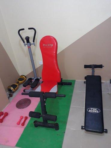 Xırdalan şəhərində Jimloja - Pro King Fitness. 220 Azn Green Hill , Press alti. 120 Azn.