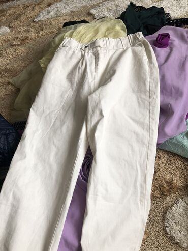 Белые джинсы новые Абсолютно Хорошо тянутся