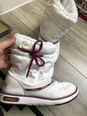 adidas porsche design в Кыргызстан: Продам сапоги Adidas оригинал 100% Состояние очень хорошее! Размер 35