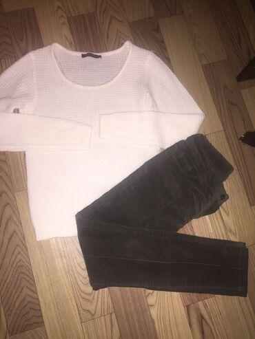 Кофта новая от terenova брюки Велвет размер 42-s обе за 500